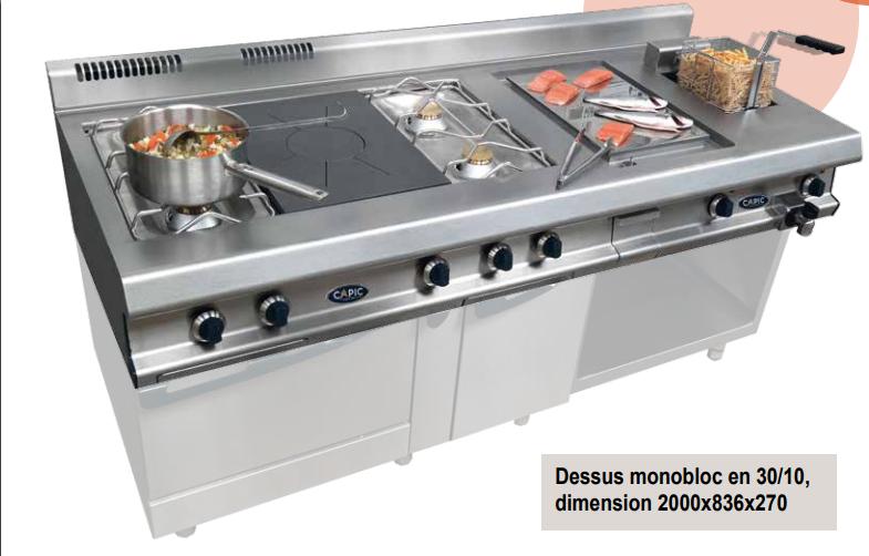 Materiel de cuisson pour l 39 quipement des cuisines for Materiel de cuisson